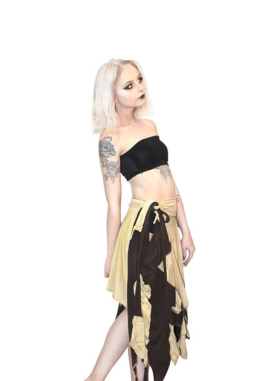 Brown Shaman Skirt
