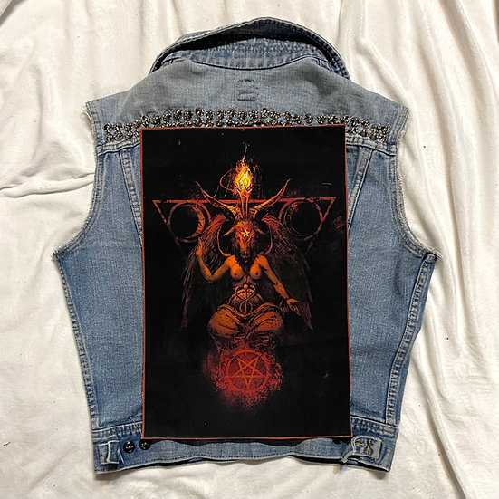 Hell Fire Back Patch