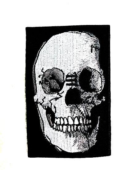 Tribe Skull Patch