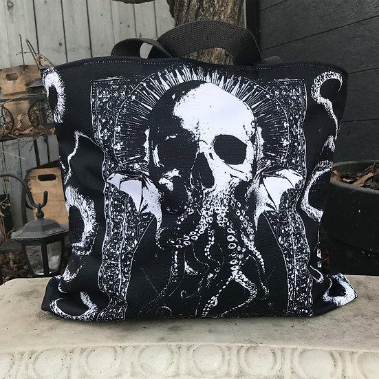 Cthulhu Elder Gods Large Tote Bag