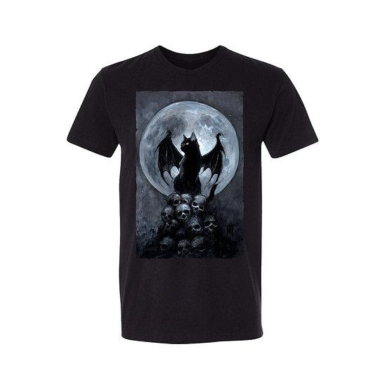 Bat Cat Mens T-Shirt