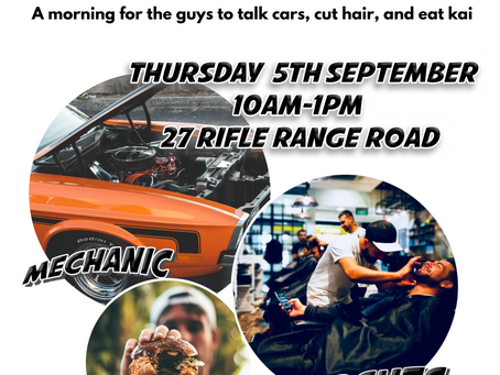 Cars, Cuts & Kai for the guys!