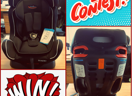 Enter to win a car seat for baby. Chairs!