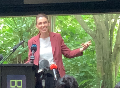 Prime Minister Jacinda Ardern Visits Hamiltonians