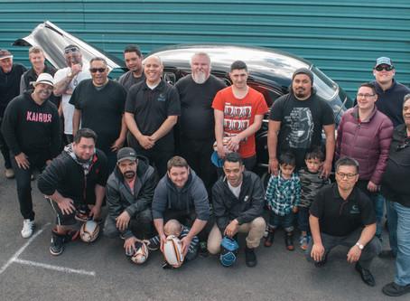 Dads Unite Around Cars, Cuts, and Kai
