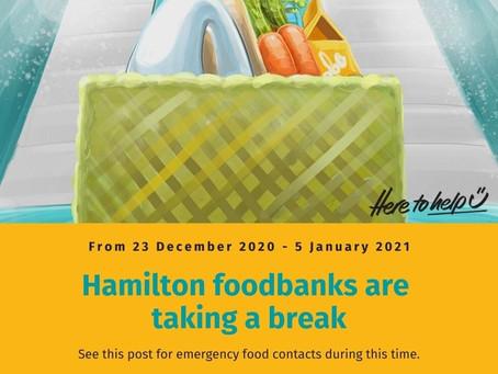 Emergency Food Needs 2020-2021