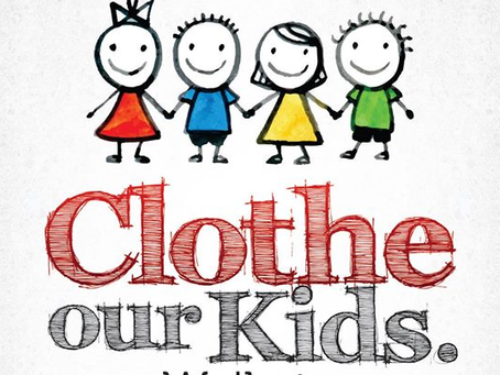 Donations for Clothe Our Kids on hold