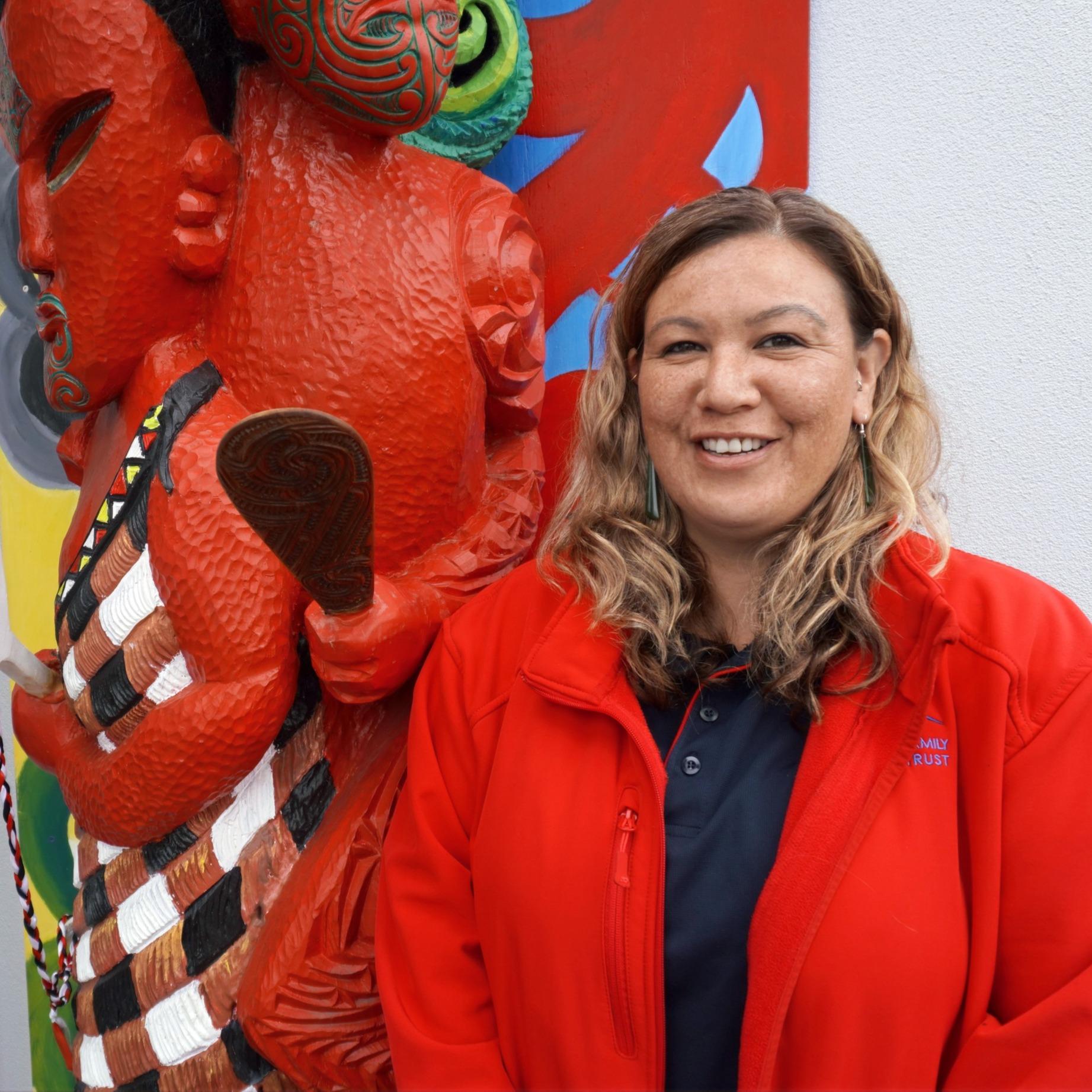 Megan Purutanga, Whānanu Support Worker