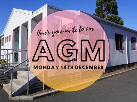 You're invited to our AGM!