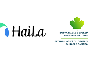HaiLa Technologies Inc. Receives $3 Million from Sustainable Development Technology Canada(SDTC)