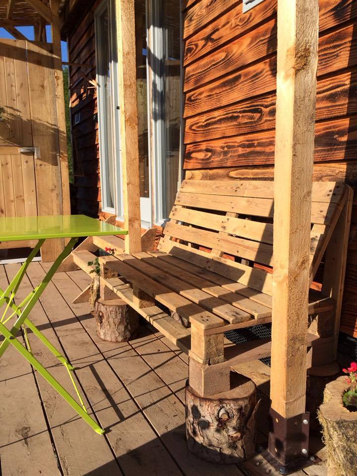 Sun on the terrace