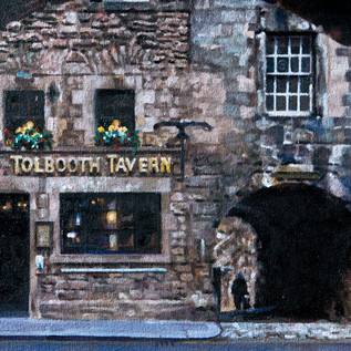 Tolbooth Tavern (oil on canvas) 55x45cm