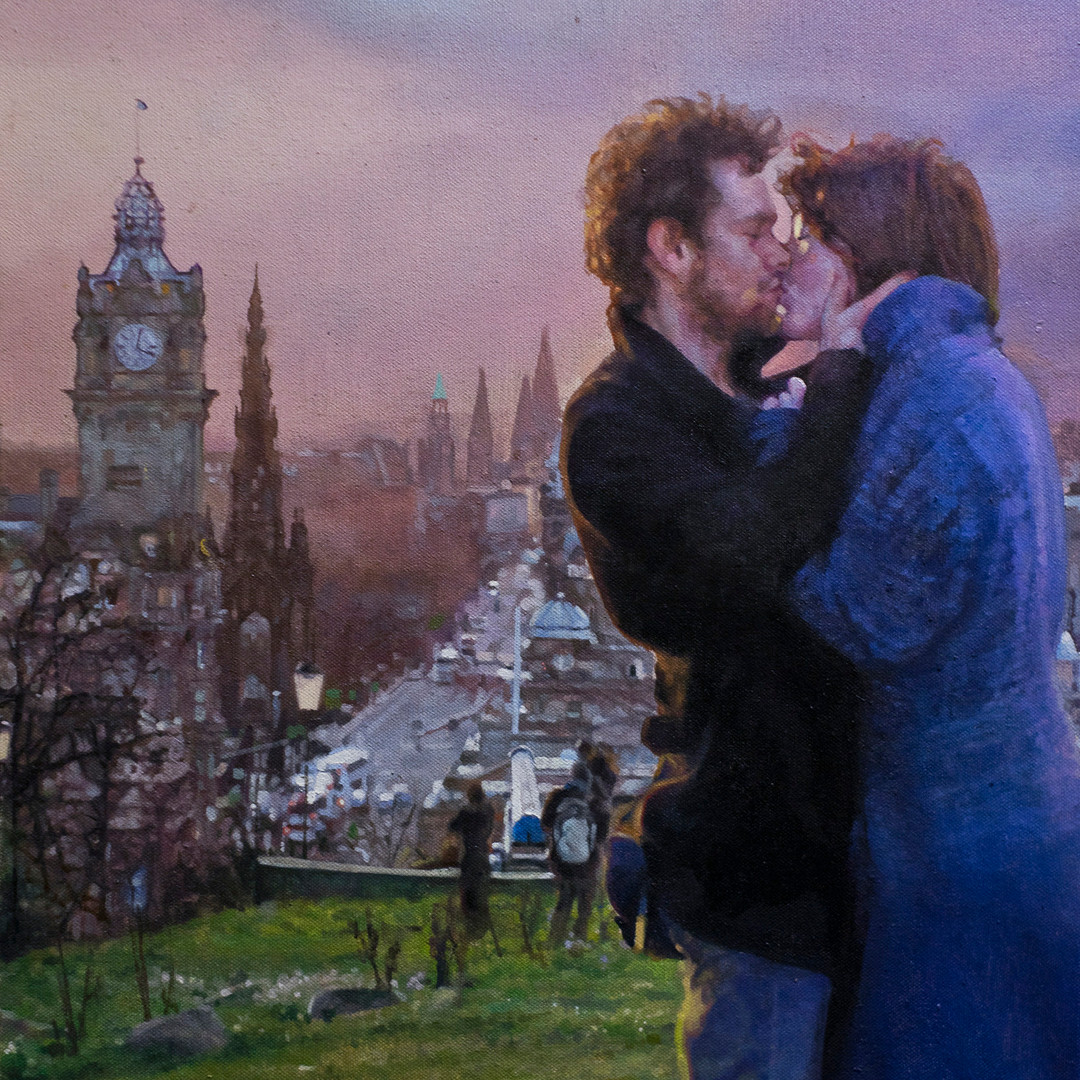 Twilight (oil on canvas) 56x66cm