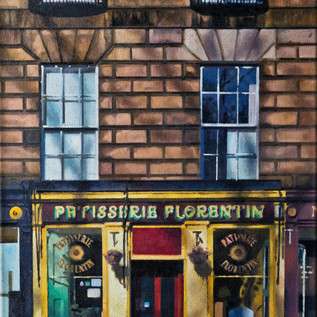 Patisserie Florentin (oil on canvas) 55x75cm