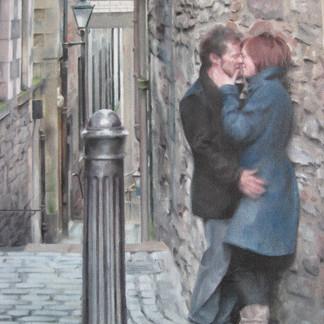 Alex Dewars Anchor Close 46x35cm framed Oil on canvas, SOLD.JPG