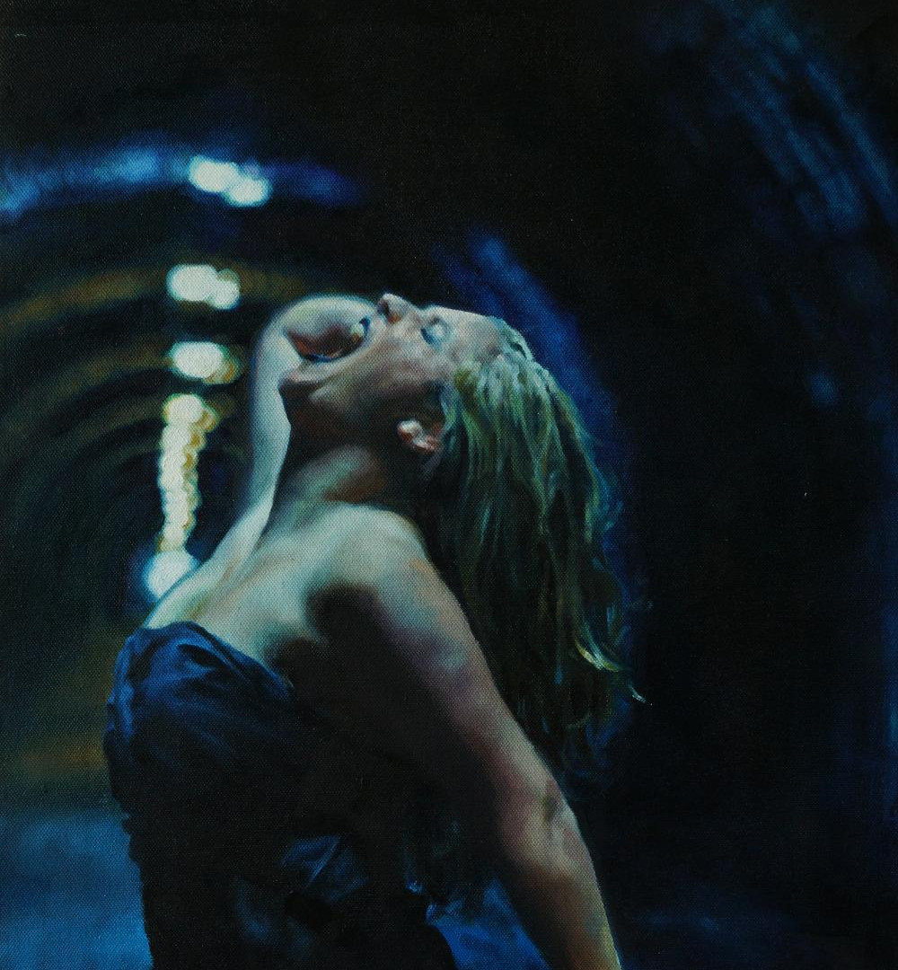 Innocent Tunnel (oil on canvas)