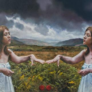 Machrie Moor (oil on canvas) 85x58cm
