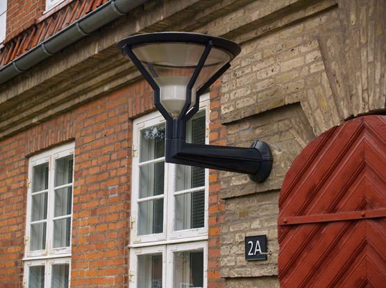 Cast Iron lampe med vedhæng