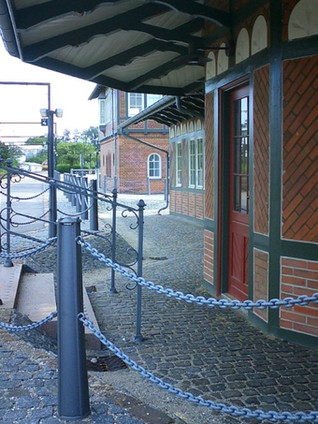 Cast iron station