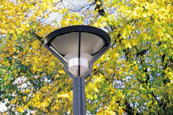 Cast Iron vej lampe