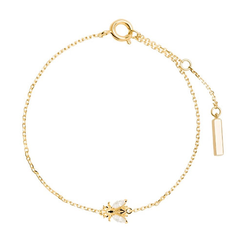 FLY WITH ME BRACELET GOLD