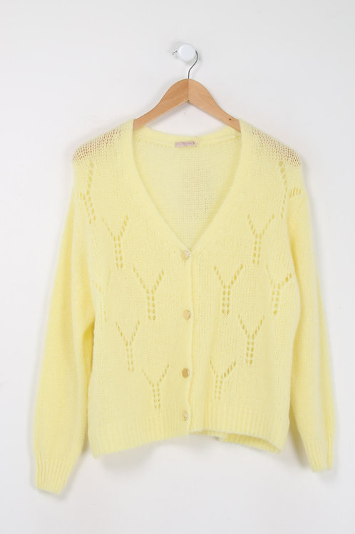 HEY CUTE KNIT YELLOW