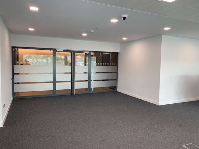 Office interior painting