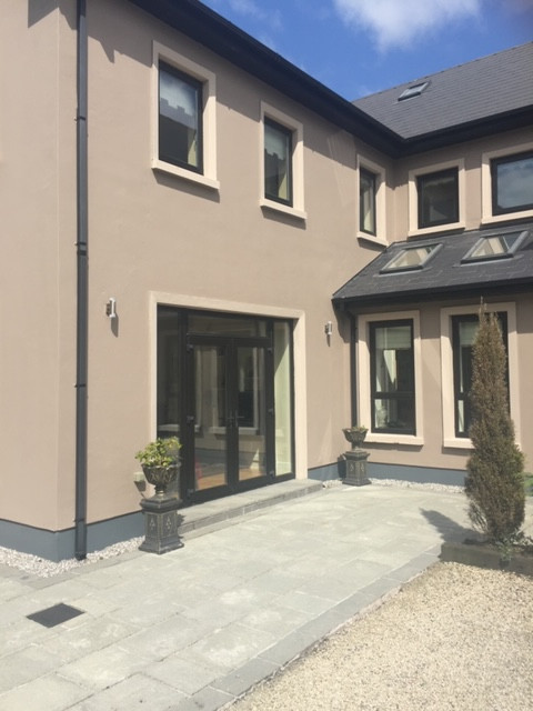 House exterior paintwork