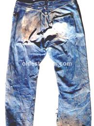 Unknown 1880 - 1890 miner waist overall