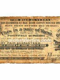 Rare 1890 Guarantee Ticket