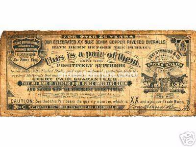 Rare 1890 Guarantee Ticket