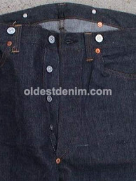 Early 1930 Copper King by Boss Of The Road copper riveted overalls