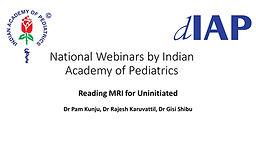 Reading MRI for Uninitiated