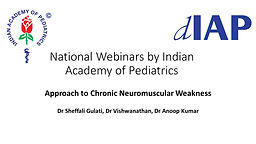 Approach to Chronic Neuromuscular Weakness