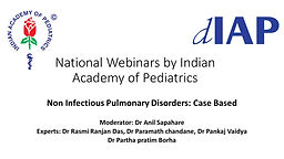 Non Infectious Pulmonary Disorders: Case Based