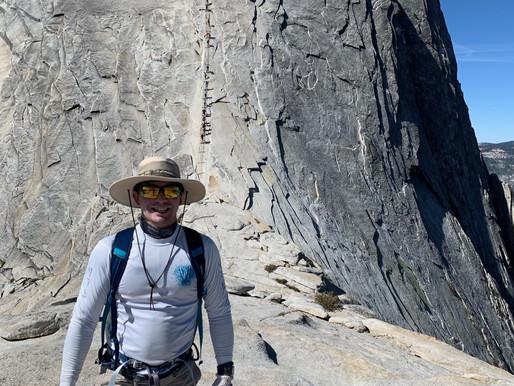 Climbing Half Dome - Carlos