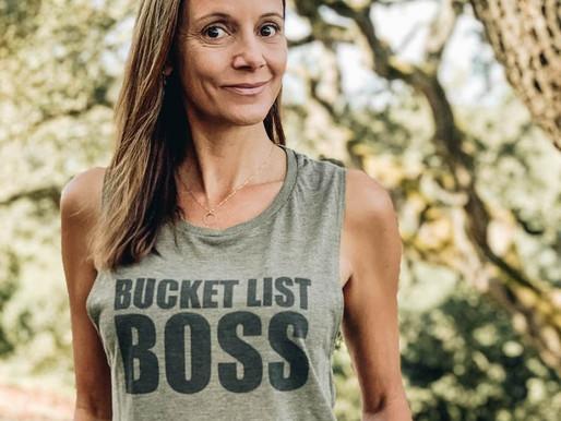 Living a Bucket List Life - Annette