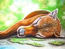 Sleeping Thylacine - Soft Pastel.jpg