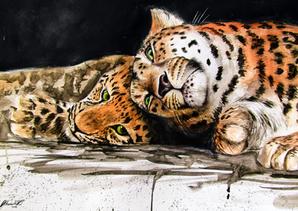 Amur Leopards - Mixed-Media.png