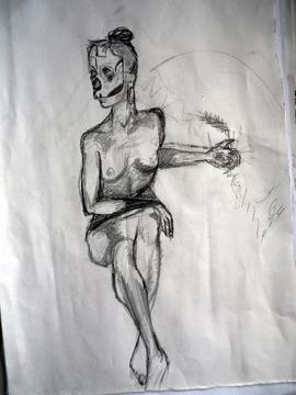 Life drawing @ The Book Club, LND