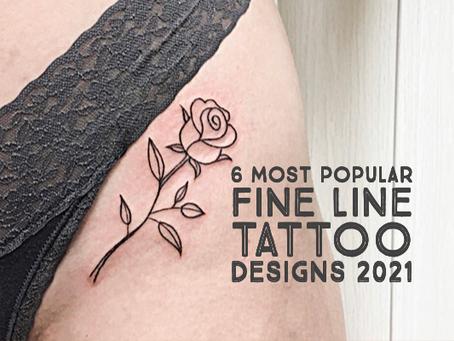6 Most Popular Fine Line Tattoo Designs