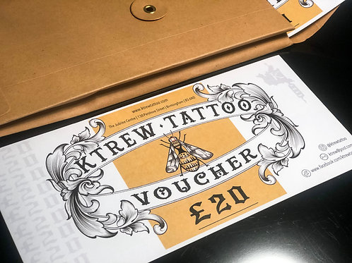 £20 Tattoo Gift Voucher