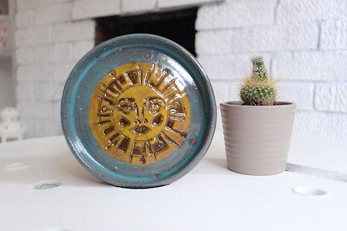 Limited Edition KTREW X OK ARTS Sun Hand Thrown Handmade Trinket Dish 10 of 15