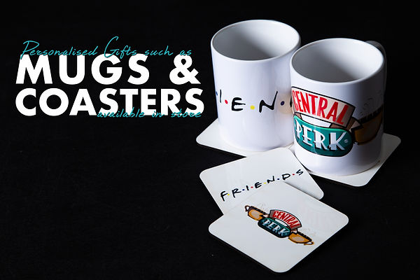 Mugs and Coasters