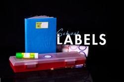 School Stationery Labels