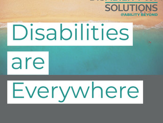 Disabilities are Everywhere