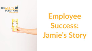 Employee Success: Jamie's Story