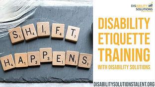 Disability Etiquette Training - Employer