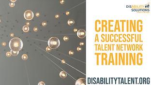 Creating a Successful Talent Network for