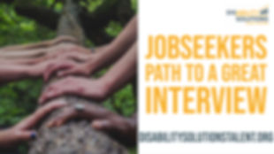 Jobseekers Path to a Great Interview 202